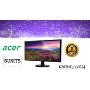 "image of ACER 19.5"" K202HQL LED MONITOR  (VGA ONLY) - 3 years warranty"