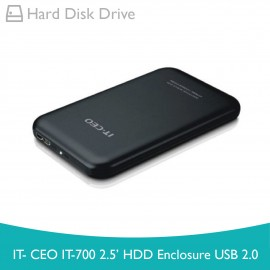 image of IT-CEO IT-700 2.5' HDD Enclosure USB 2.0