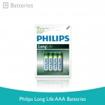 Philips Long Life AAA Batteries