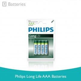 image of Philips Long Life AAA Batteries