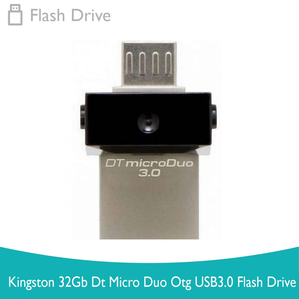 Kingston 32Gb Dt Micro Duo Otg Usb3.0 Flash Drive
