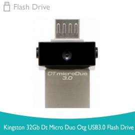 image of Kingston 32Gb Dt Micro Duo Otg Usb3.0 Flash Drive