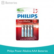 image of Philips Power Alkaline AAA Batteries