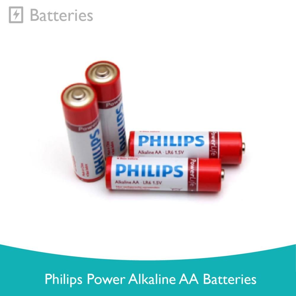 Philips Power Alkaline AA Batteries
