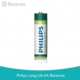 image of Philips Long Life AA Batteries