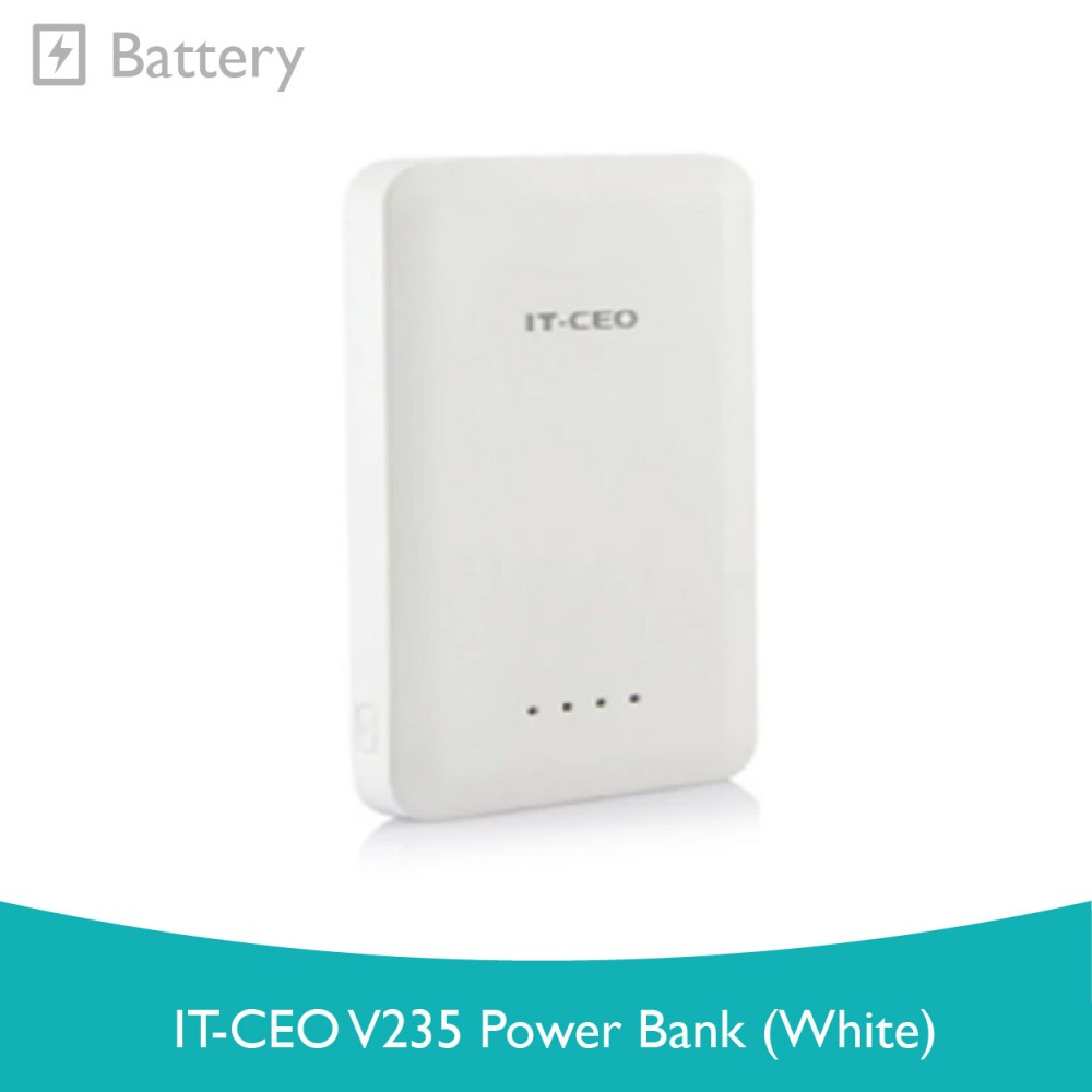 IT-CEO V235 Power Bank (White)