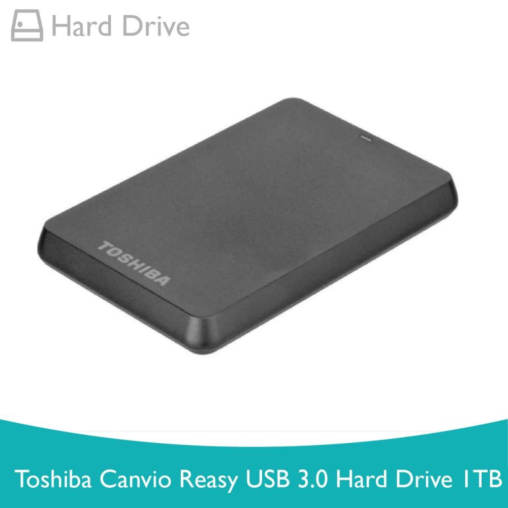 Toshiba Canvio Ready USB 3.0 Hard Drive 1TB