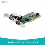 Tiny Tech PCI to Com Port Card
