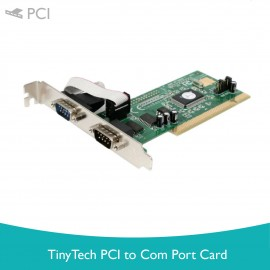 image of Tiny Tech PCI to Com Port Card