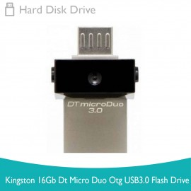 image of Kingston 16Gb Dt Micro Duo Otg USB3.0 Flash Drive