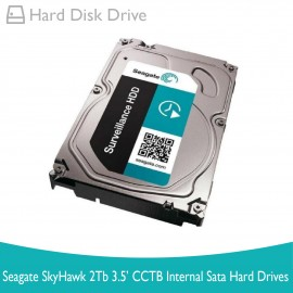 image of Seagate SkyHawk 2TB 3.5'' CCTV INTERNAL SATA HARD DRIVES