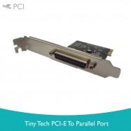 image of Tiny Tech PCI-E to Parallel Port