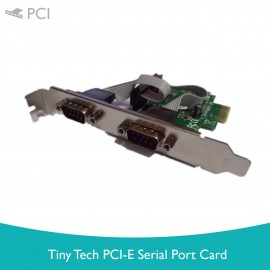 image of Tiny Tech PCI-E Serial Port Card
