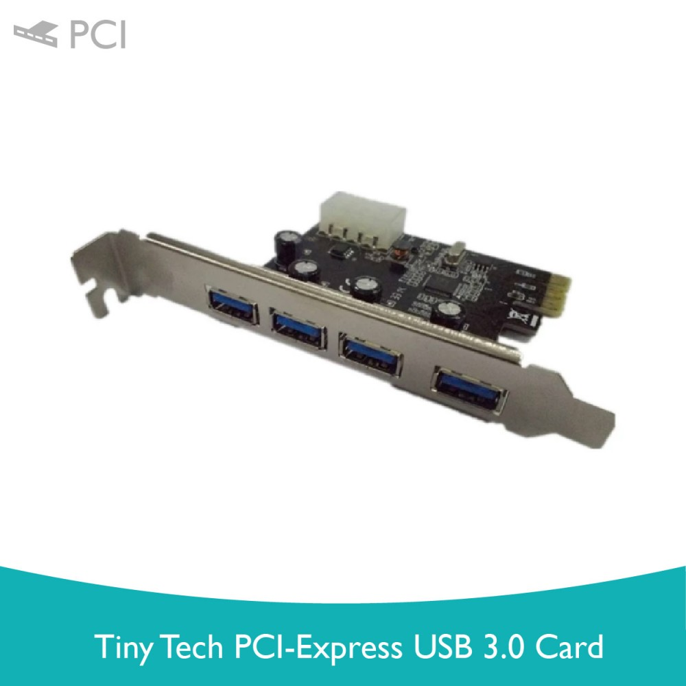 Tiny Tech PCI-Express USB 3.0 Card
