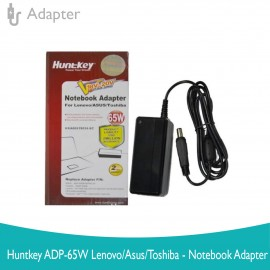 image of Huntkey ADP-65W Lenovo/Asus/Toshiba-Notebook Adapter