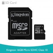 image of Kingston 16GB Micro SDHC Class 10
