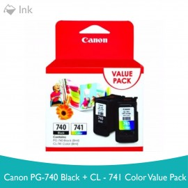 image of Canon PG-740 Black + CL-741 Color VALUE PACK