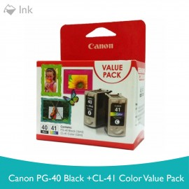 image of CANON PG-40 Black + CL-41 Color Value Pack