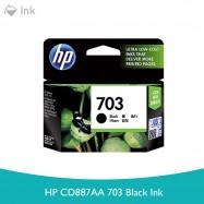 image of HP CD887AA 703 Black Ink