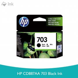image of HP CD887AA 703 Black Ink