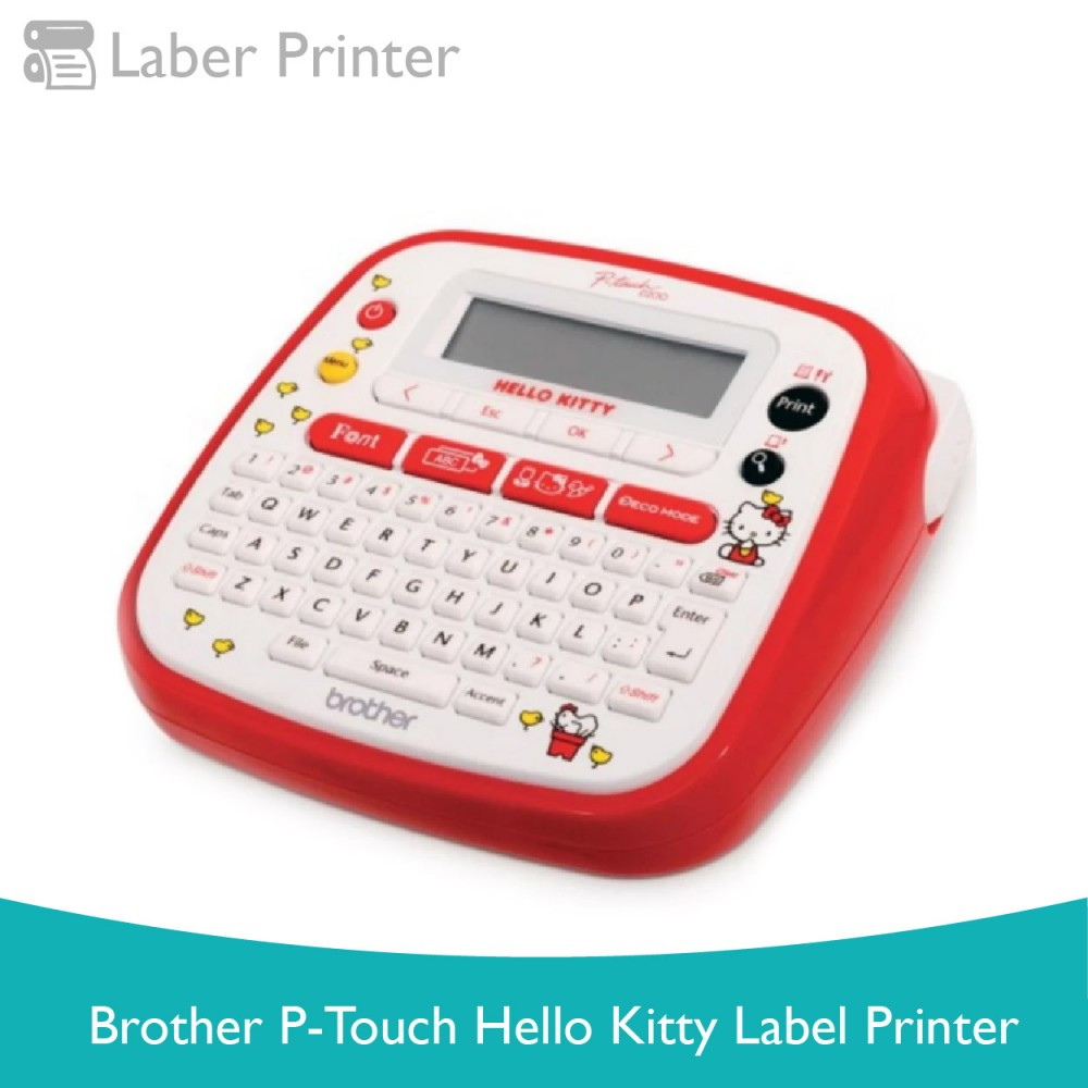 Brother P-TOUCH Hello Kitty Label Printer