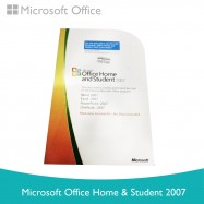 image of Microsoft Office Home & Student 2007