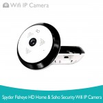 Spyder EC10-I6 360 Fisheye HD Home and SOHO Security WiFi IP Camera
