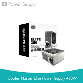 image of Cooler Master Elite Power Supply 460W