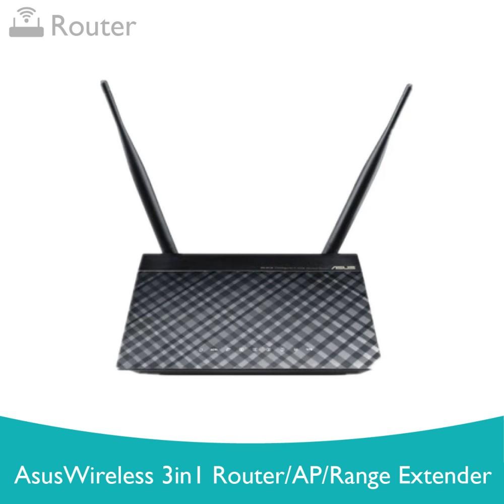 ASUS RT-N12D Wireless N300  3in1 Router /AP/Range Extender
