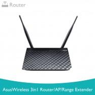 image of ASUS RT-N12D Wireless N300  3in1 Router /AP/Range Extender