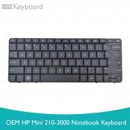 image of OEM HP Mini 210-3000 Notebook Keyboard