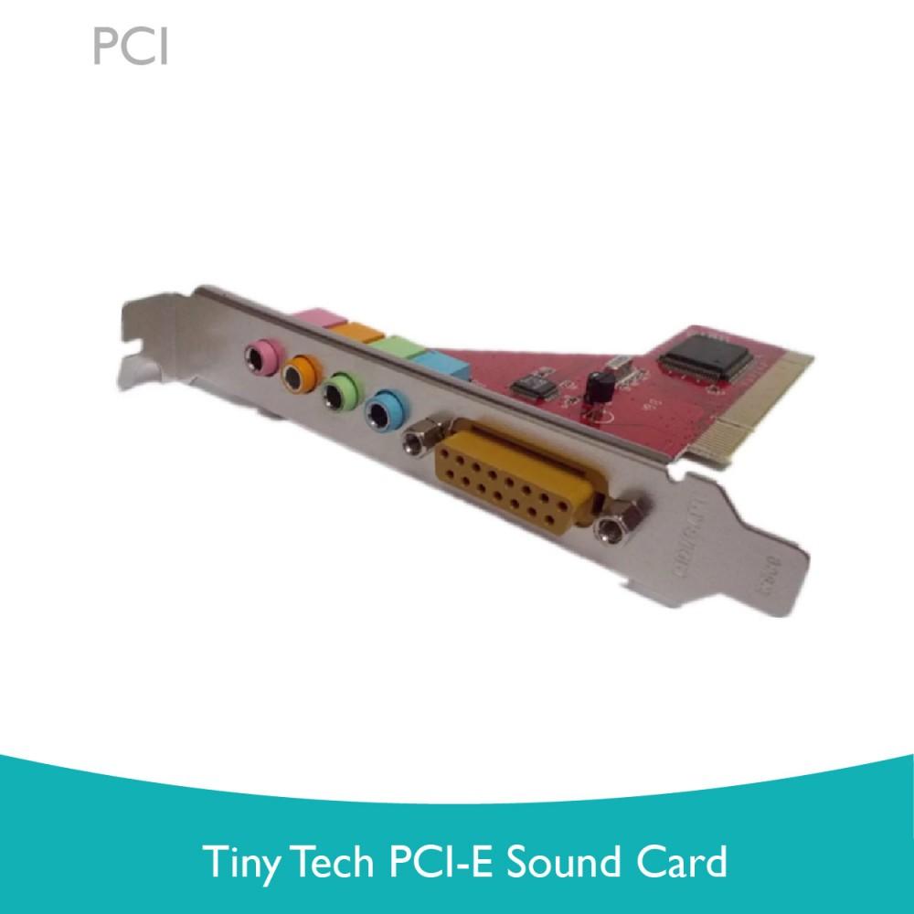Tiny Tech PCI-E Sound Card