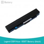 image of Legend OEM Acer 1830T Battery (Black)
