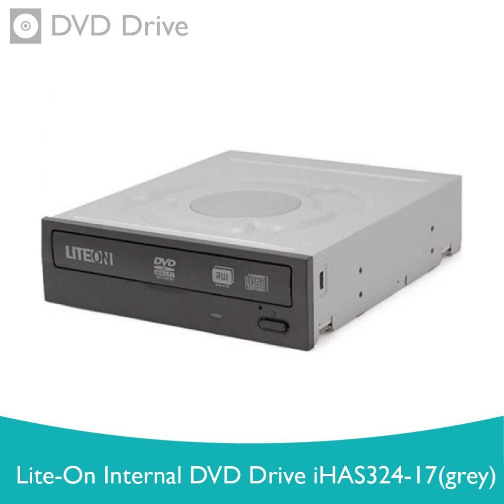 LITE-ON Internal DVD Drive iHAS324-17 (Grey)