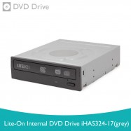 image of LITE-ON Internal DVD Drive iHAS324-17 (Grey)