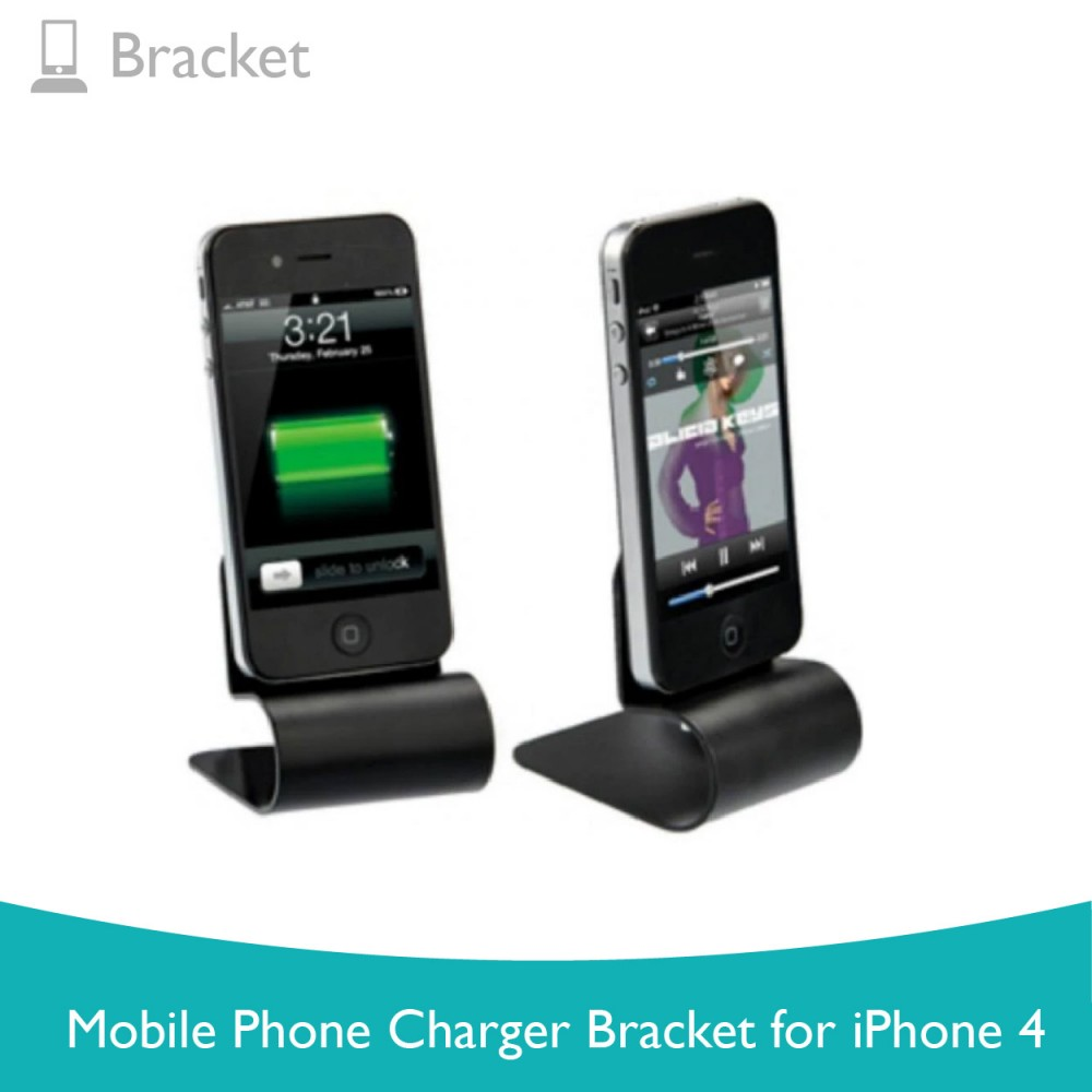 Mobile Phone Charger Bracket for Iphone 4