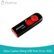 image of Adata Capless Sliding USB Flash Drive 16GB