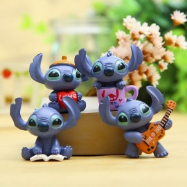 image of Stitch Cake Topper x 4 pieces