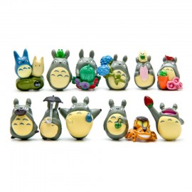 image of Totoro Cake Topper x 12 Pieces