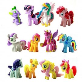 image of My Little Pony Cake Toppers x 12 Pieces