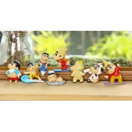 image of Shin Chan Cake Topper x 8 pieces