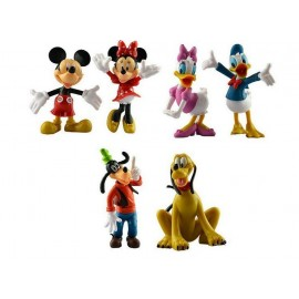 image of Mickey and Friends Cake Topper x 6 Pieces