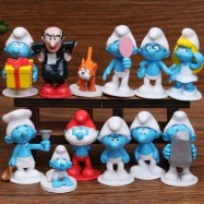 image of The Smurfs Figurine Set x 12 pieces