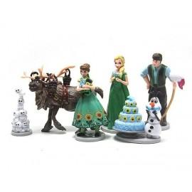 image of Disney Frozen Cake Topper x 6 pieces