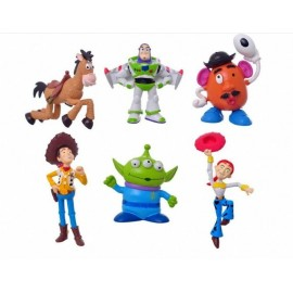 image of Toys Story Cake Topper x 6 pieces