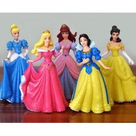 image of Disney Princess Cake Topper (13-14 cm) x 5 pieces