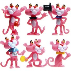 image of Pink Parther Cake Topper x 6 pieces