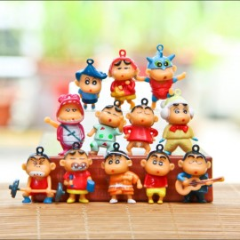 image of Shin Chan Keychain / Cake Topper x 12 pieces