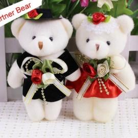 image of Teddy Bear 12cm - Partner Set