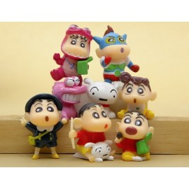 image of Shin Chan Cute Cake Topper x 8 pieces